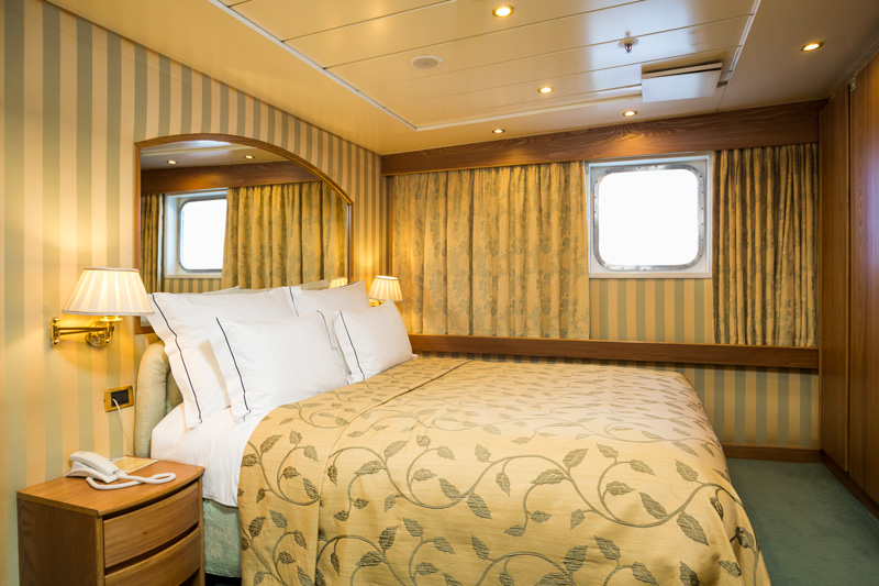 Cruise & Maritime Voyages Azores Accommodation Owners Presidential Suite Ocean View with Balcony Bedroom.jpg