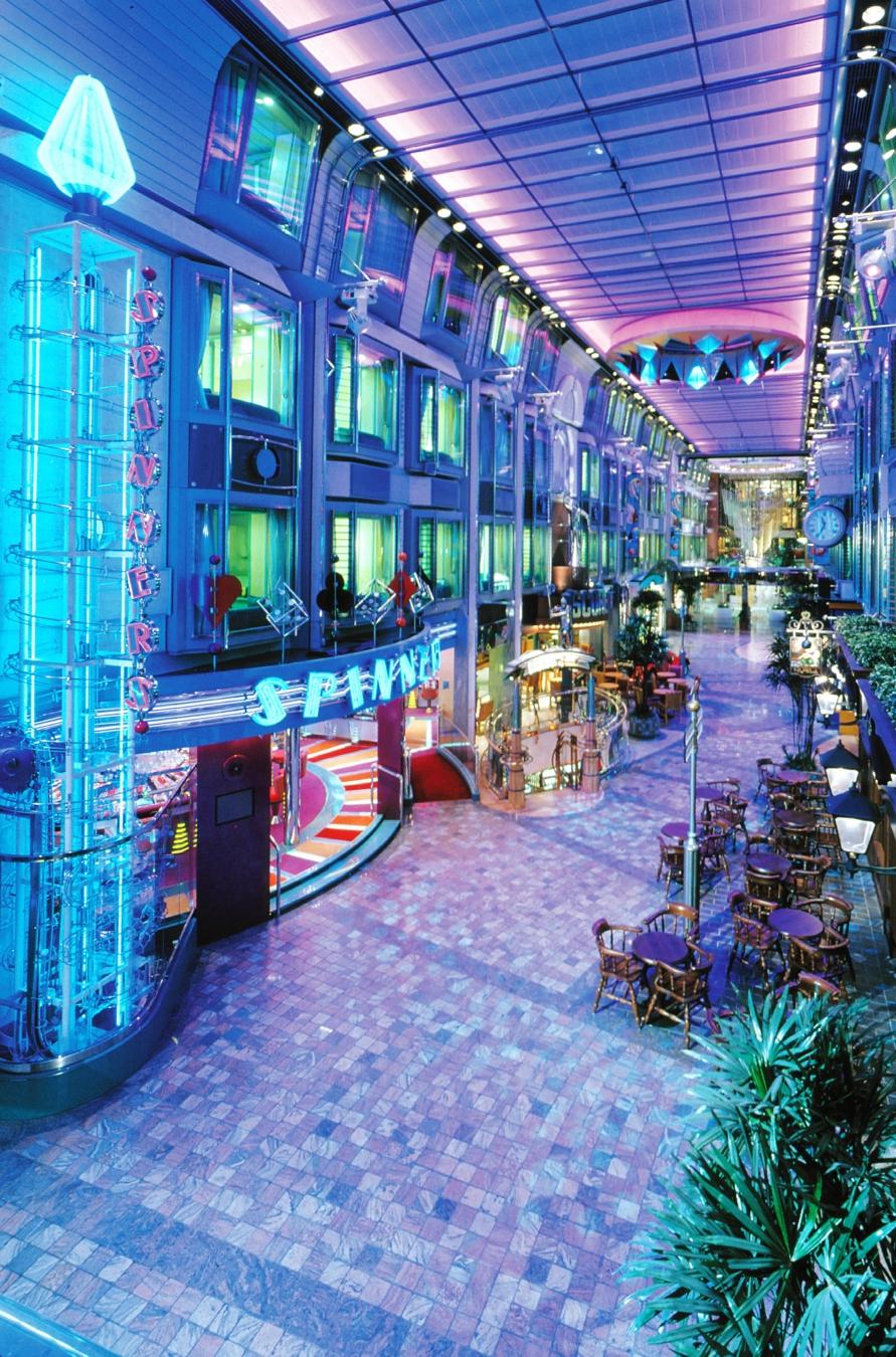 Royal Caribbean International Voyager of the Seas Interior Promenade.jpg