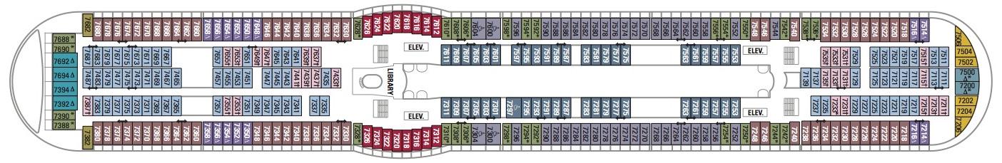 Royal Caribbean International Voyager of the Seas Deck 7.jpg