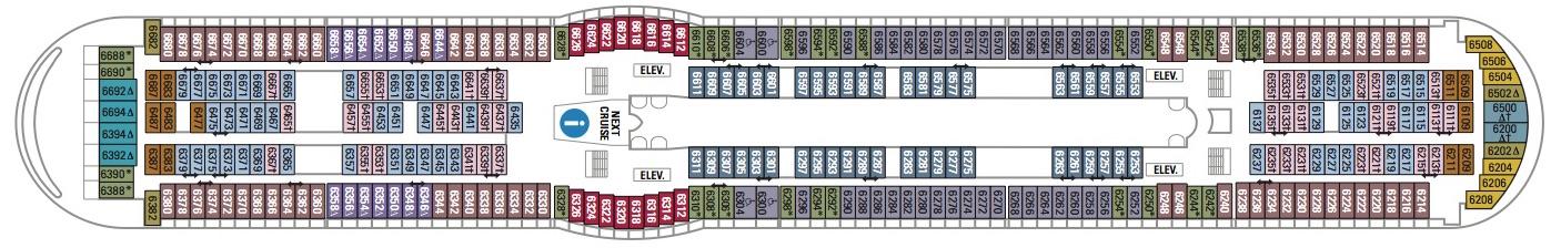 Royal Caribbean International Voyager of the Seas Deck 6.jpg