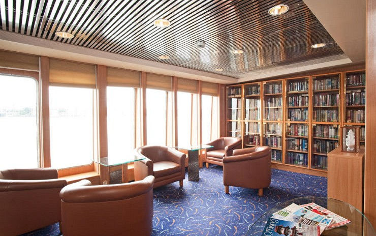Cruise & Maritime Voyages Marco Polo Interior Library.jpg