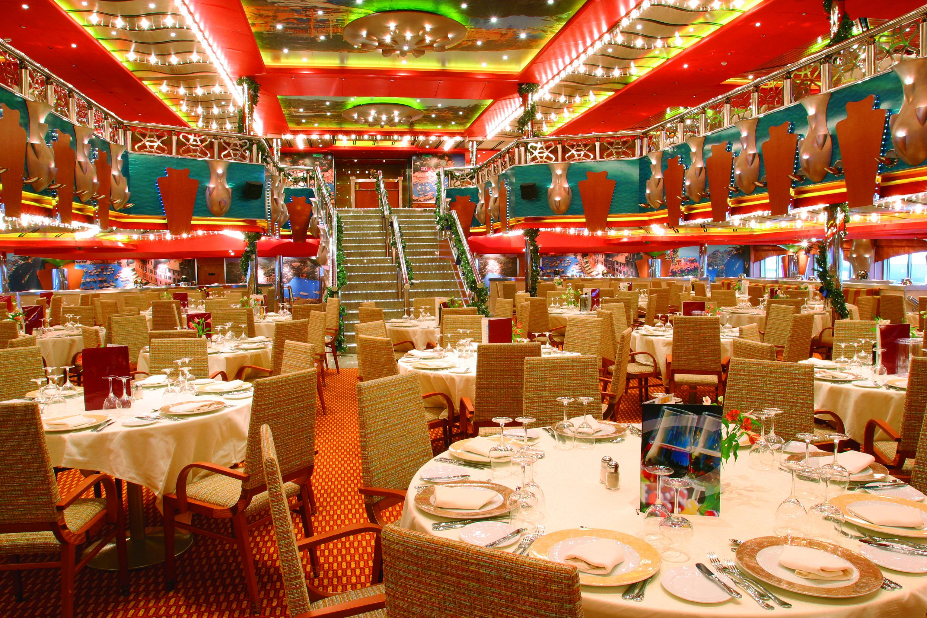 Costa Cruises Costa Magica Interior Restaurant Portofino 2.jpg