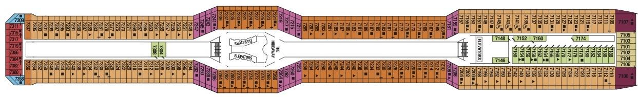 Allure of the Seas Deck 3 Deck Plan Tour - Cruise Deck Plans