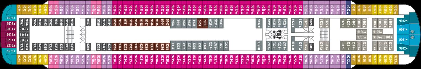 Norwegian Cruise Line Norwegian Sky Deck Plans Deck 9.png