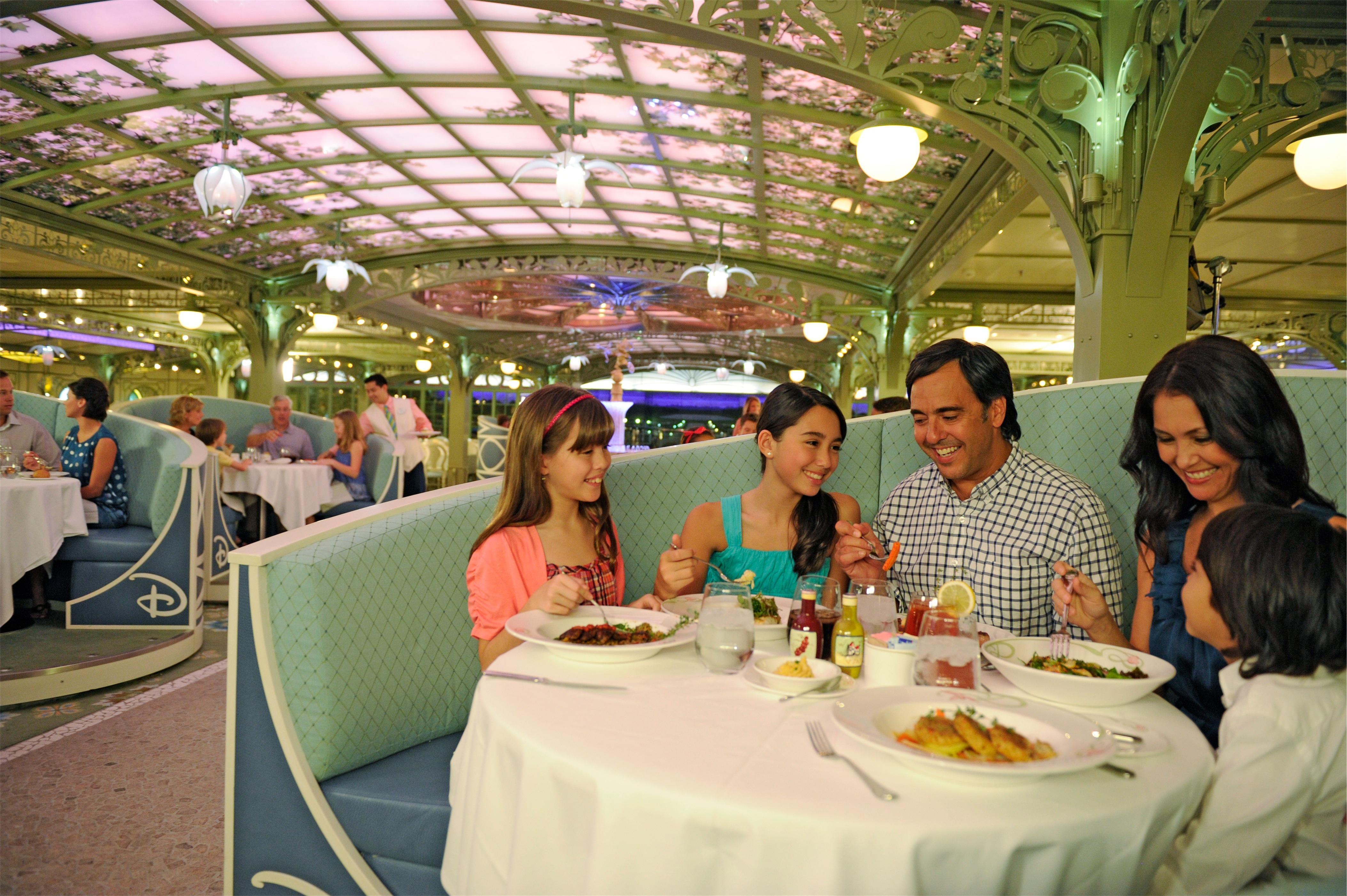 Disney Cruise Line Disney Dream Interior Enchanted Garden Restaurant 1.jpg