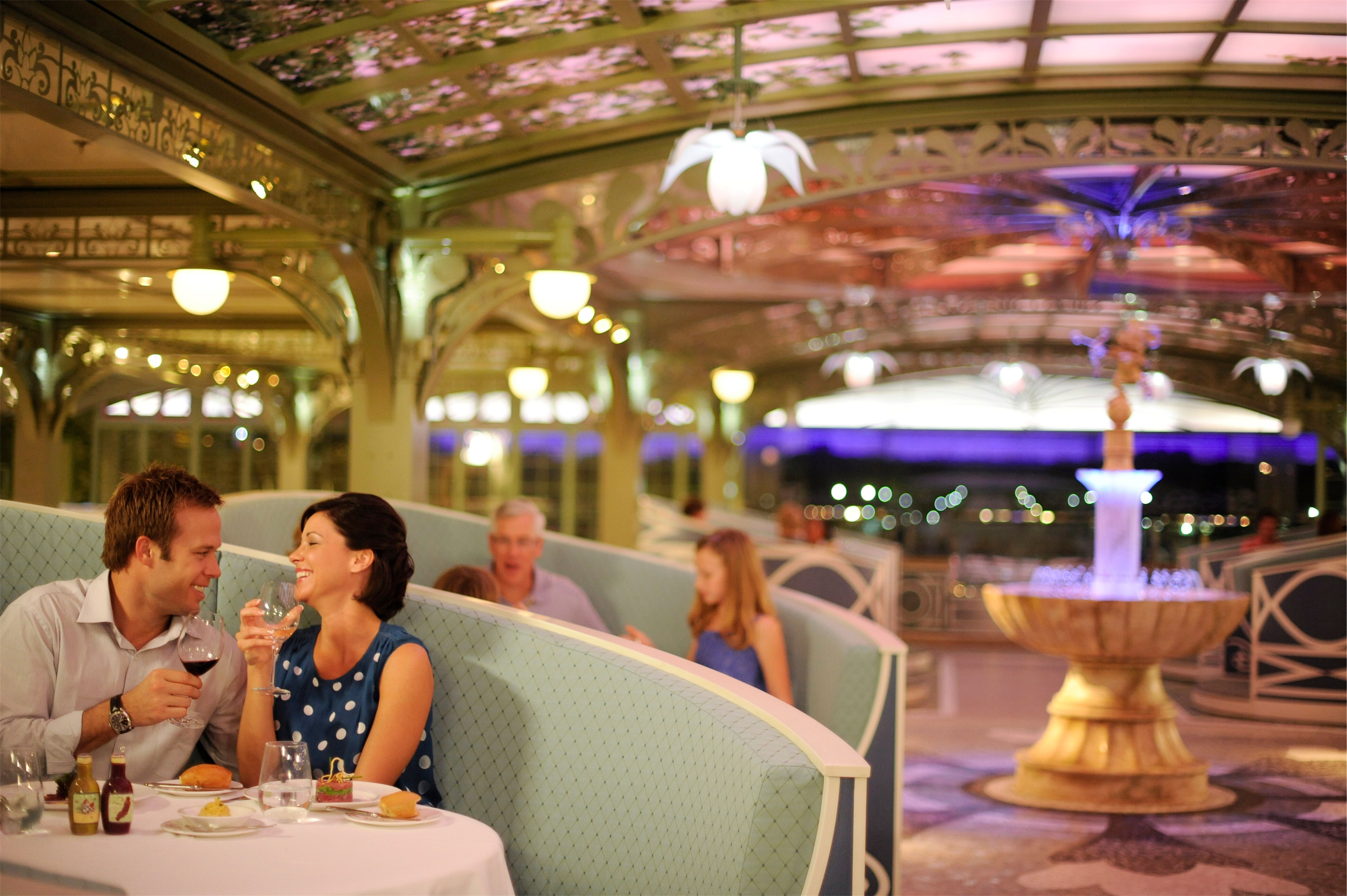 Disney Cruise Line Disney Dream Interior Enchanted Garden Restaurant 2.jpg