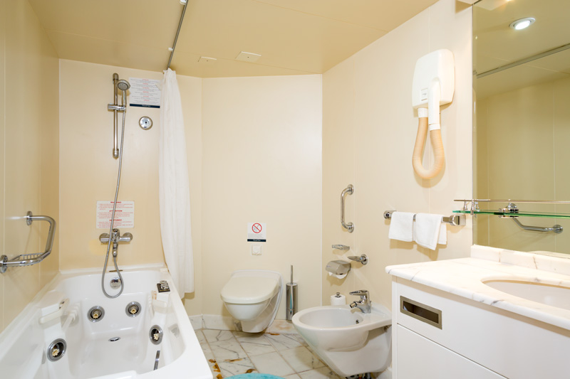 Cruise & Maritime Voyages Azores Accommodation De Luxe Balcony Suite Ocean View Bathroom.jpg