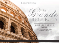 Silversea World Cruise 2018