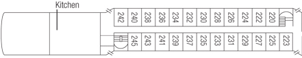 Saga River Cruises Regina Rheni II Deck Plans Middle Deck.jpg