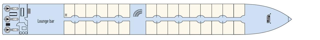 CroisiEurope MS Loire Princess Deck Plans Upper Deck.jpg