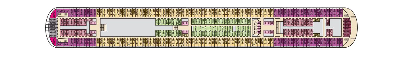 Carnival Cruise Lines Carnival Dream Deck Plans Deck 6.jpg