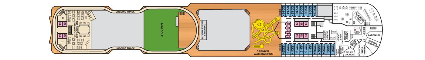 Carnival Cruise Lines Carnival Dream Deck Plans Deck 12.jpg