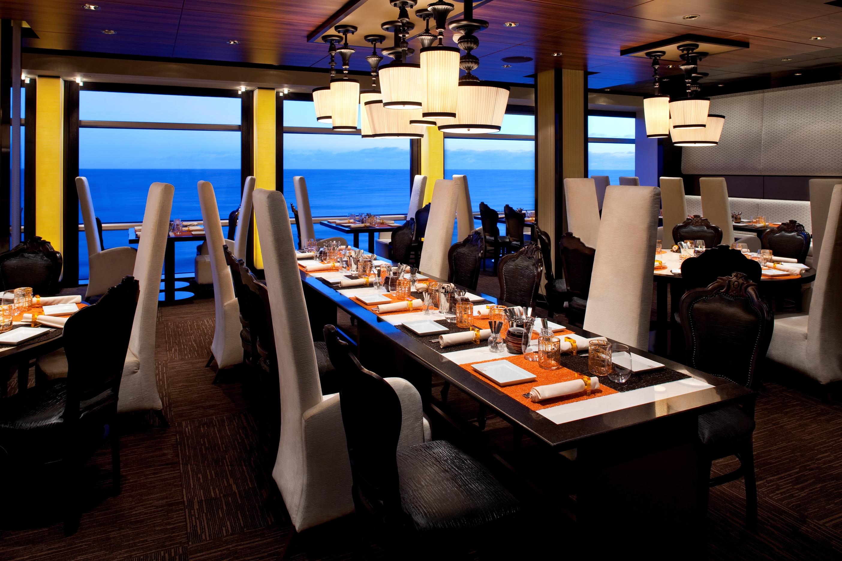 celebrity cruises celebrity eclipse Qsine restaurant.jpg