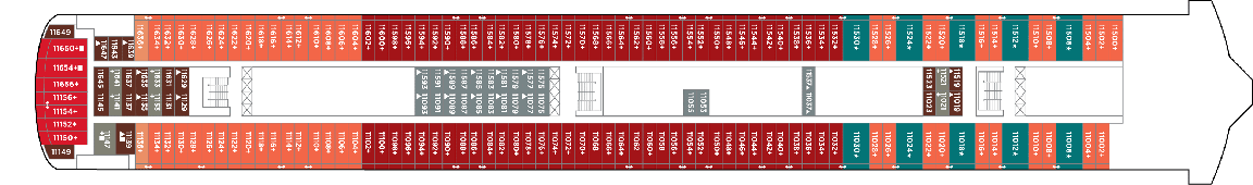 Norwegian Cruise Line Norwegian Jewel Deck Plans Deck 11.png