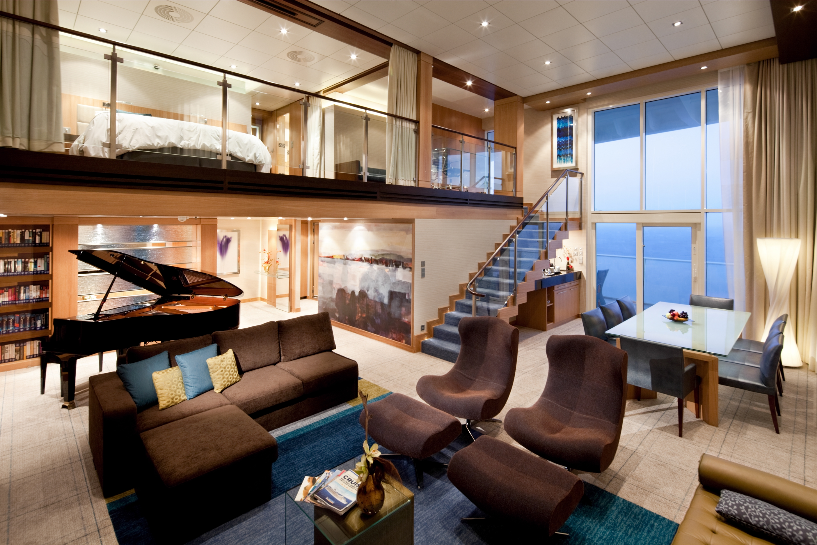 Royal Caribbean International Oasis of the seas accommodation Royal loft room.jpg