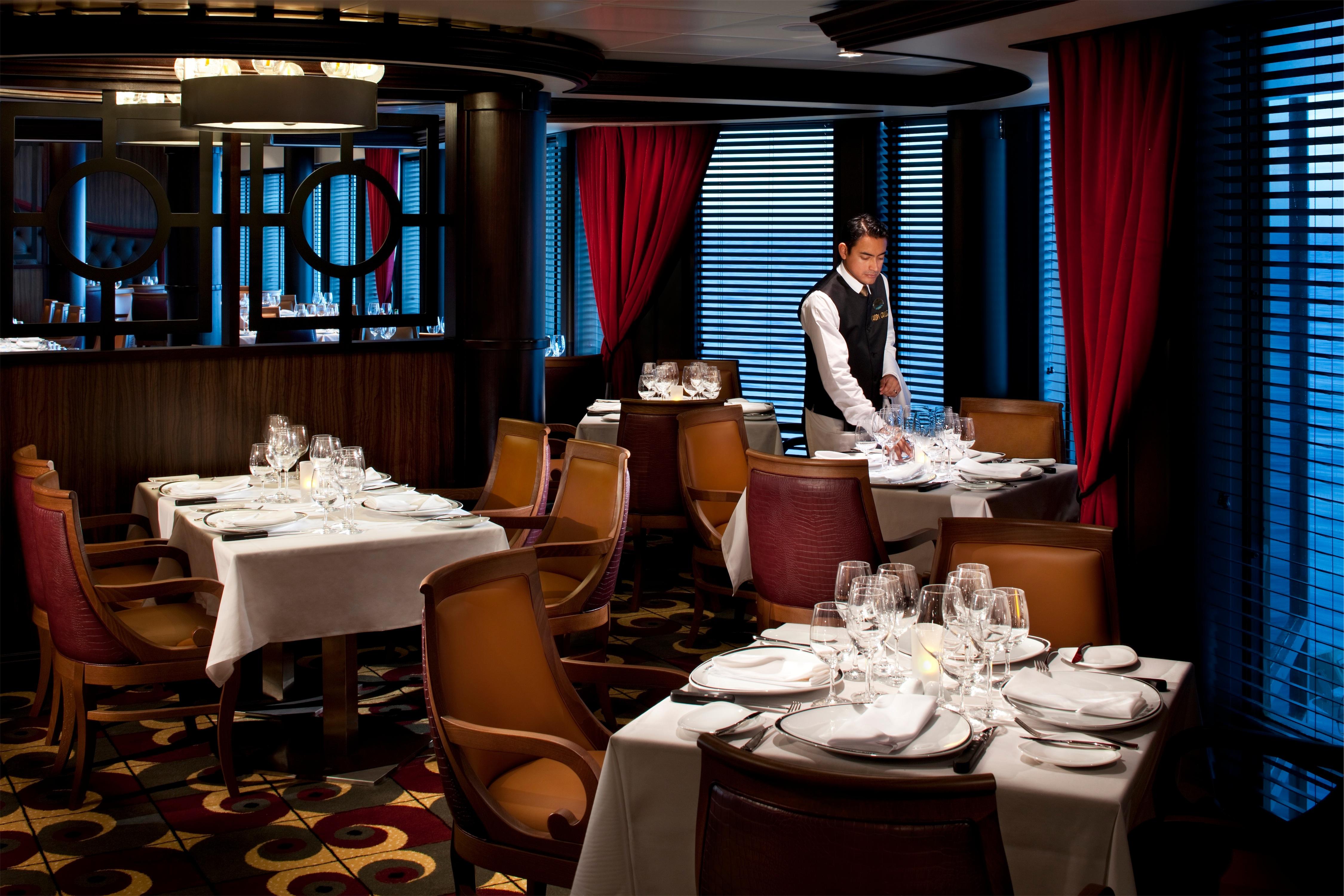 Royal Caribbean International Rhapsody of the Seas Interior Chops Grille.jpg
