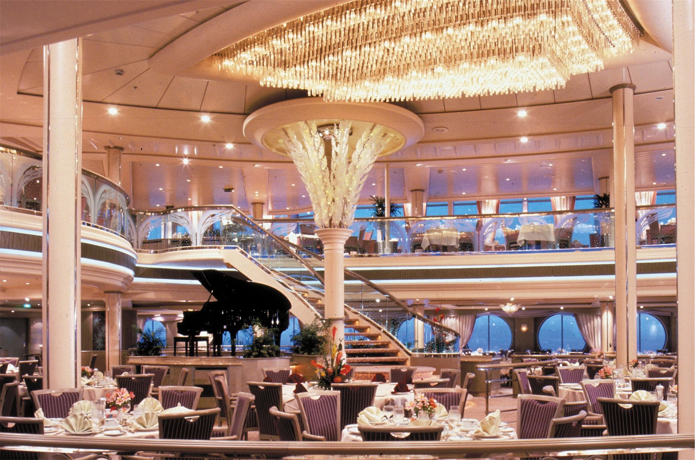 Royal Caribbean International Rhapsody of the Seas Interior Dining Room.jpg