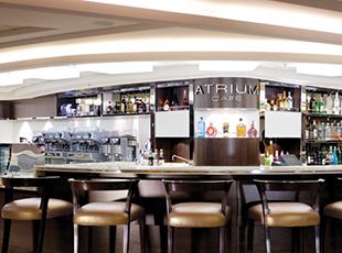 Norwegian Cruise Line Norwegian Epic Interior Cafe at the Atrium.jpg