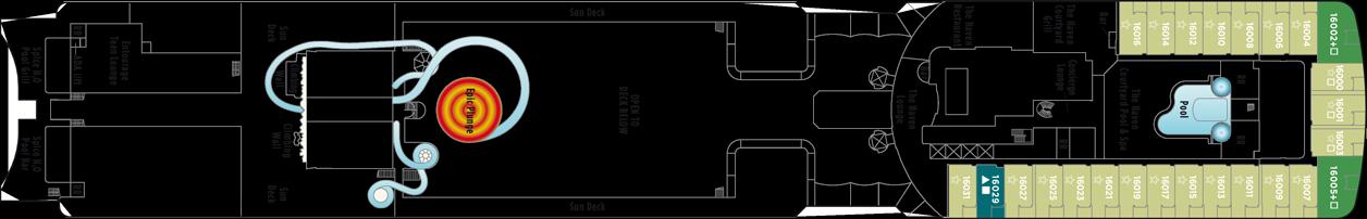 Norwegian Cruise Line Norewegian Epic Deck Plans Deck 16.png