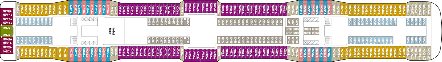 Norwegian Cruise Line Norewegian Epic Deck Plans Deck 10.png