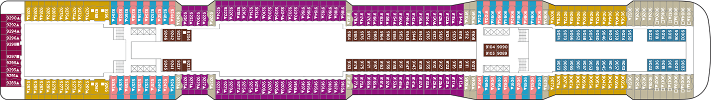 Norwegian Cruise Line Norewegian Epic Deck Plans Deck 9.png
