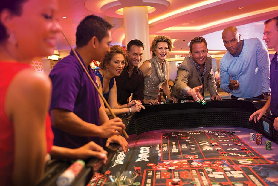 Norwegian Cruise Line Norwegian Escape Interior Casino.jpg