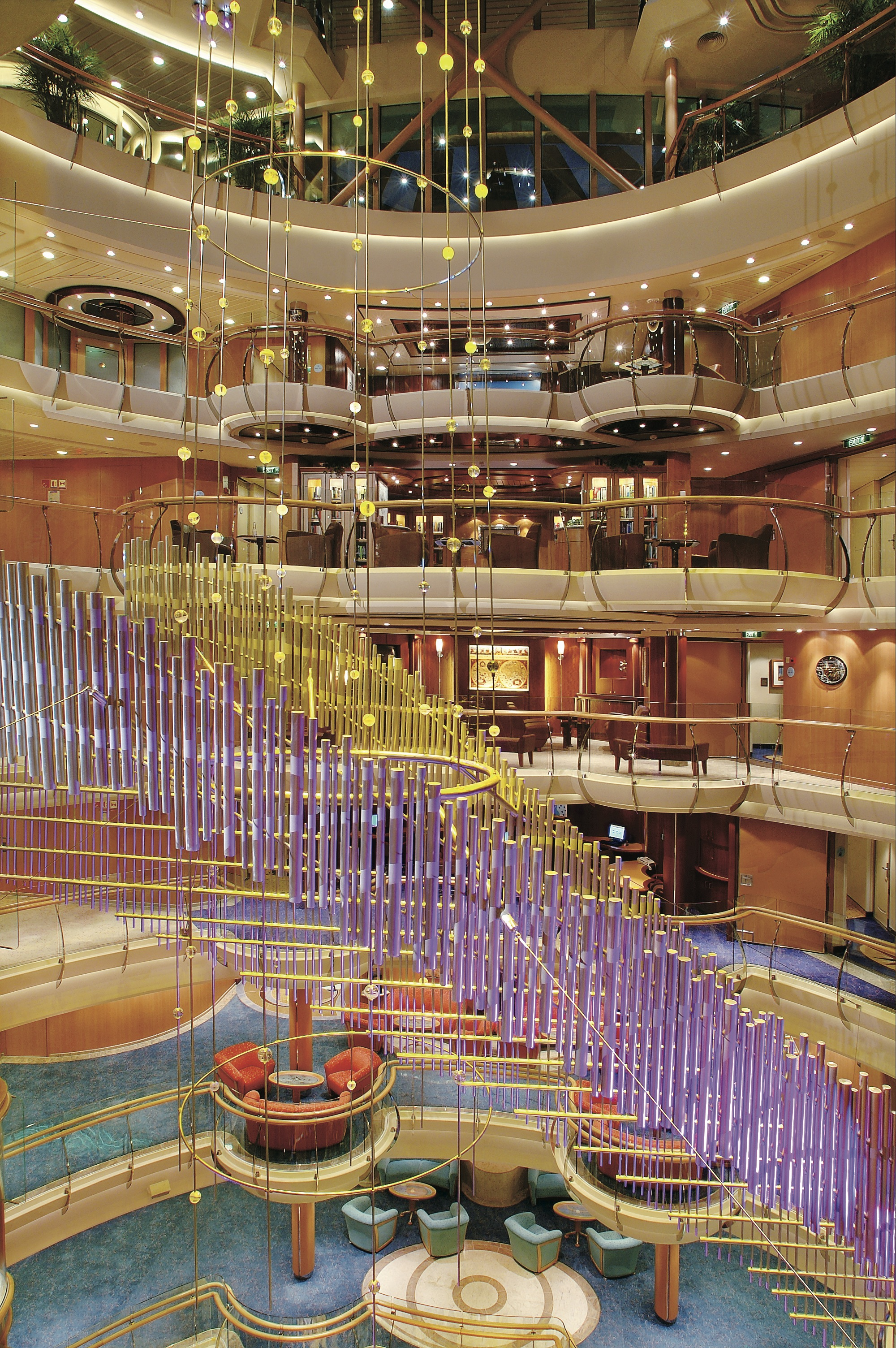 Royal Caribbean International Jewel of the Seas Interior Centrum Installation.jpeg