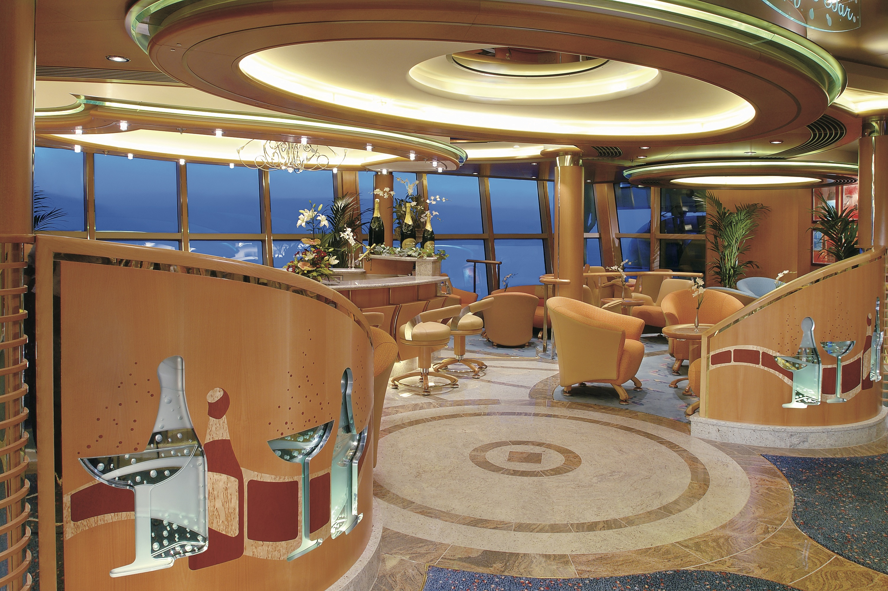 Royal Caribbean International Jewel of the Seas Interior Champagne Bar.jpeg