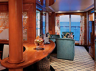 Norwegian Cruise Line Norwegian Spirit Accommodation Aft Facing Owner's Suite with Large Balcony.jpg