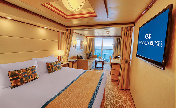 Princess Cruises Royal Class Accomodation Mini Suite with Balcony.jpg