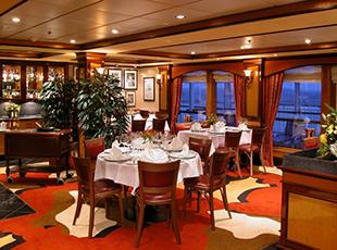 Norwegian Cruise Line Norwegian Dawn Interior Cagney's Steakhouse.jpg