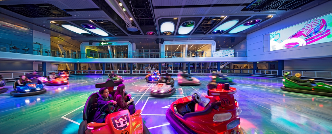 Royal Caribbean International Quantum of the Seas Interior SeaPlex Bumber Cars 4.jpg