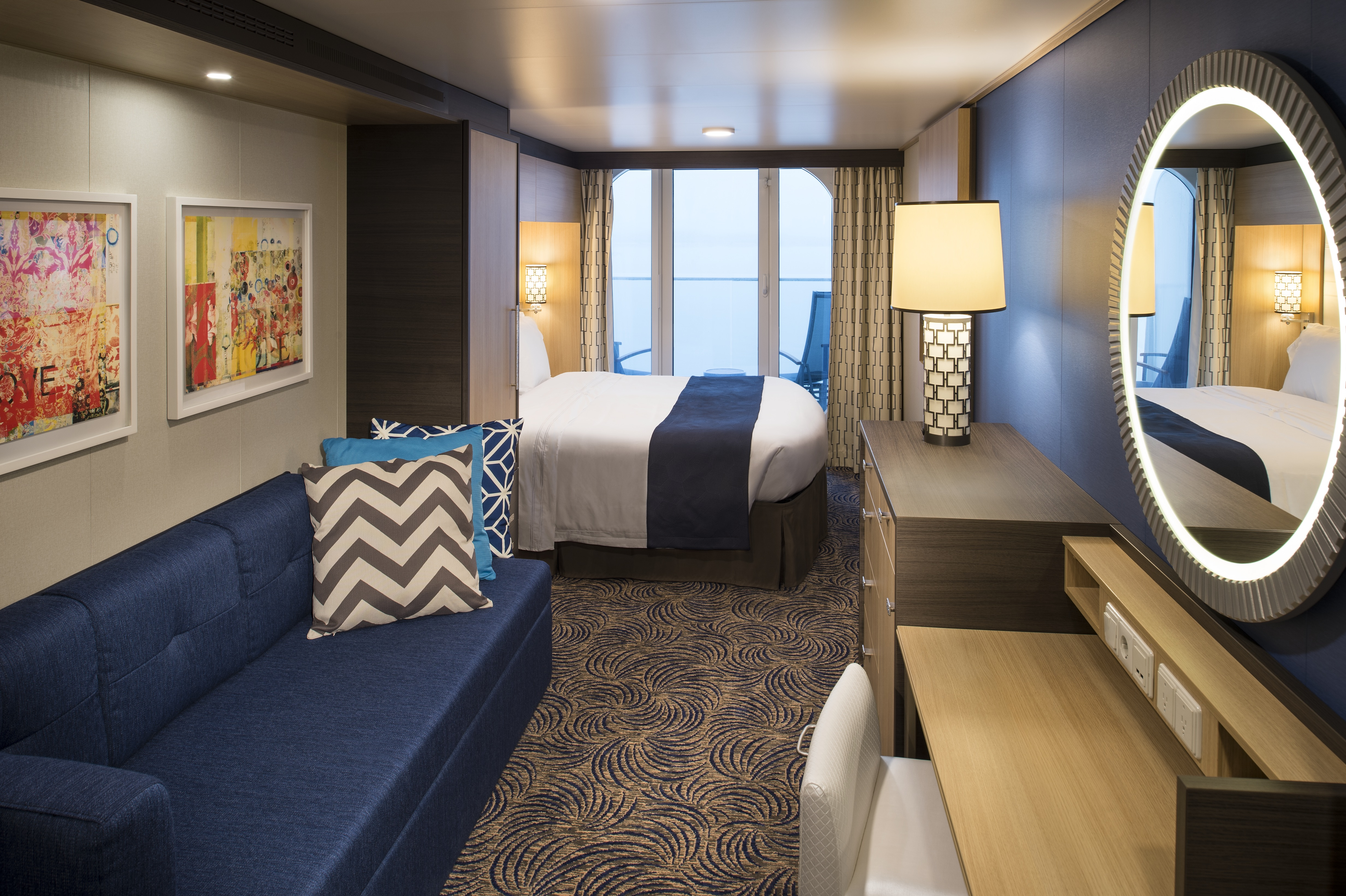 Royal Caribbean International Quantum of the Seas Accommodation Ocean View Balcony.jpg