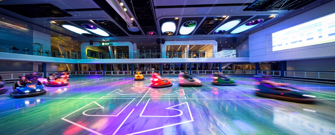 Royal Caribbean International Quantum of the Seas Interior SeaPlex Bumber Cars 5.jpg