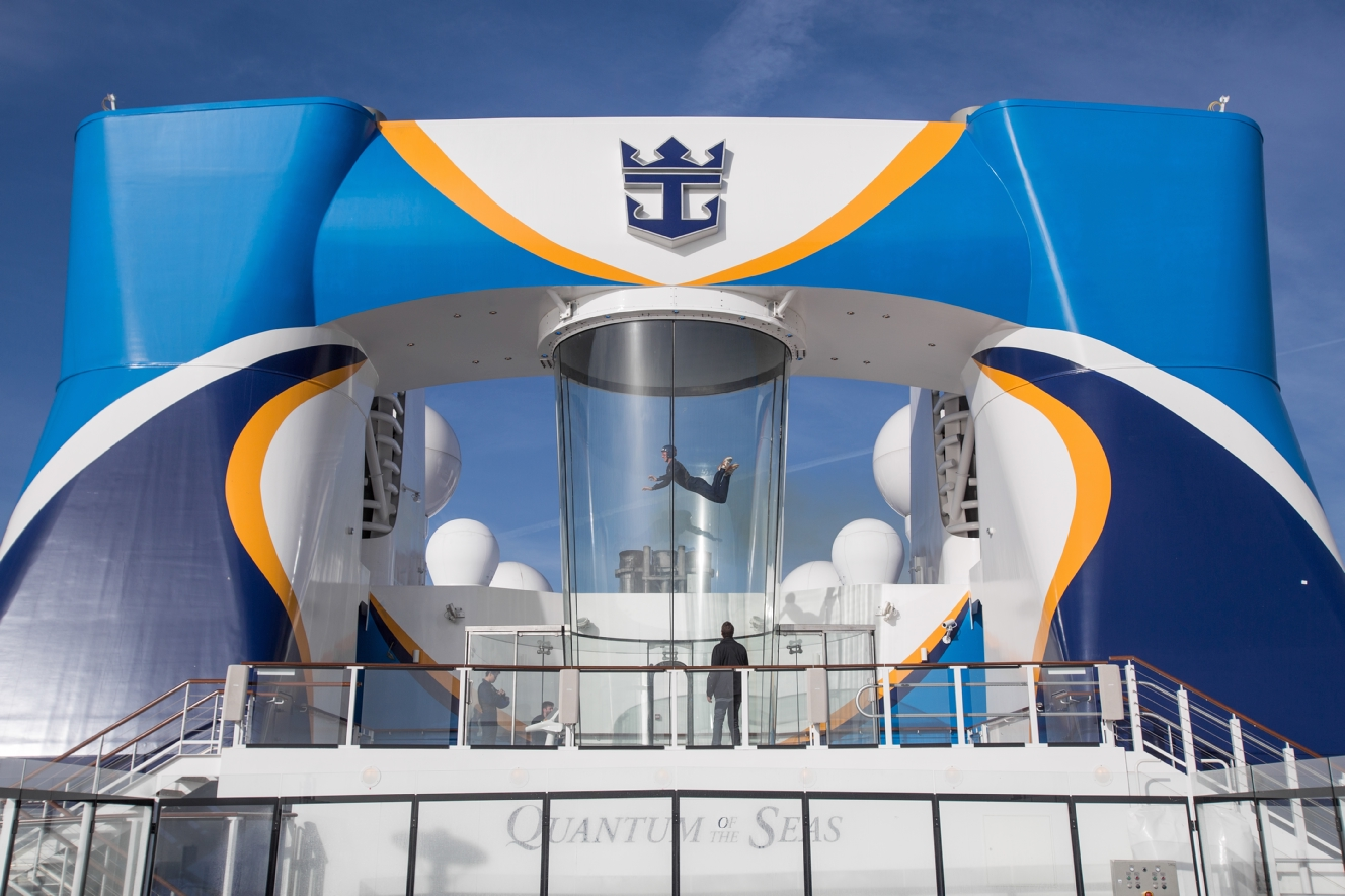 Royal Caribbean International Quantum of the Seas Exterior iFly 1.jpg