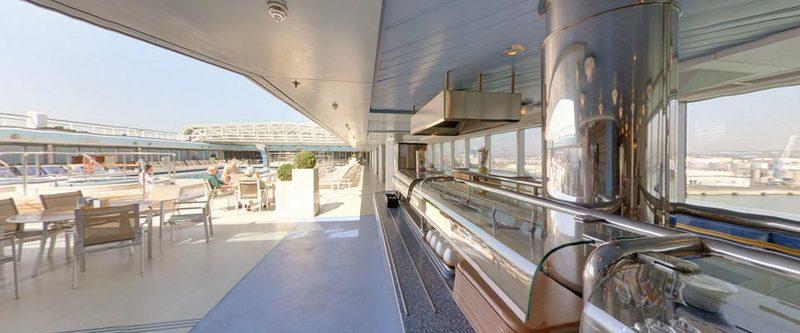 Arcadia p o cruises for Arcadia deck plans