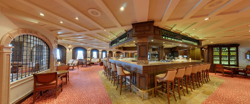Ventura p o cruises for P o ventura dining rooms