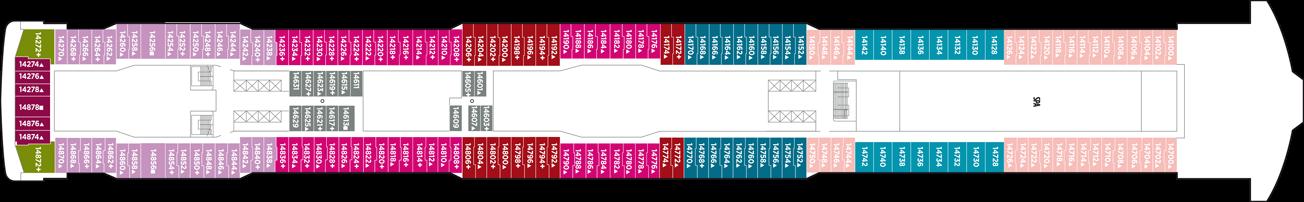 Norwegian Cruise Line Norwegian Breakaway Deck Plans Deck 14.png