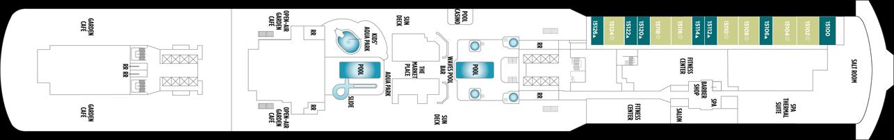 Norwegian Cruise Line Norwegian Breakaway Deck Plans Deck 15.png