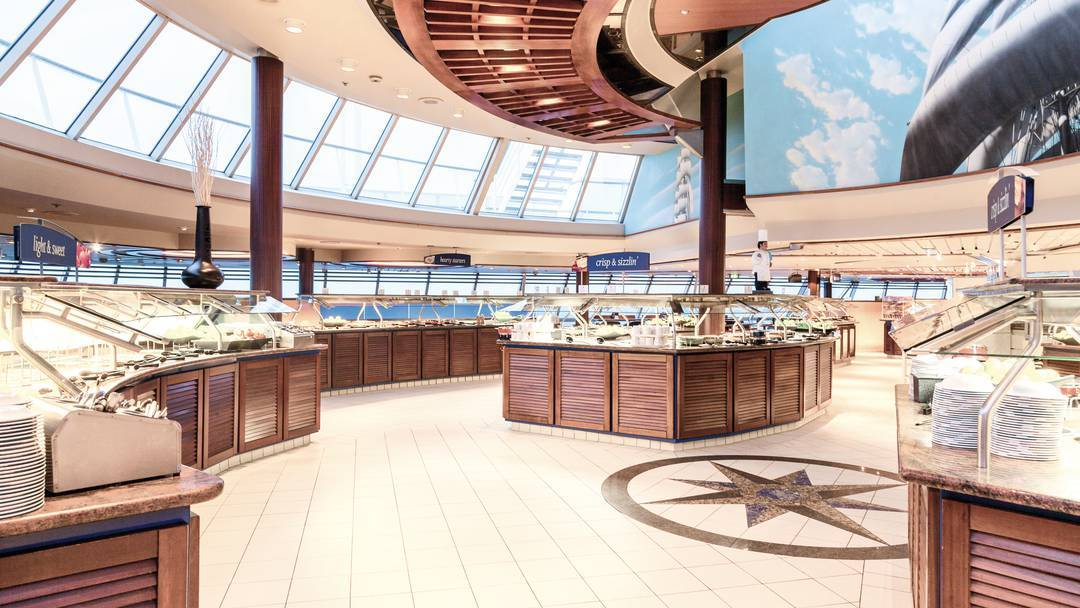 Thomson Cruise Thomson Discovery Interior Lido Restaurant 4.jpg