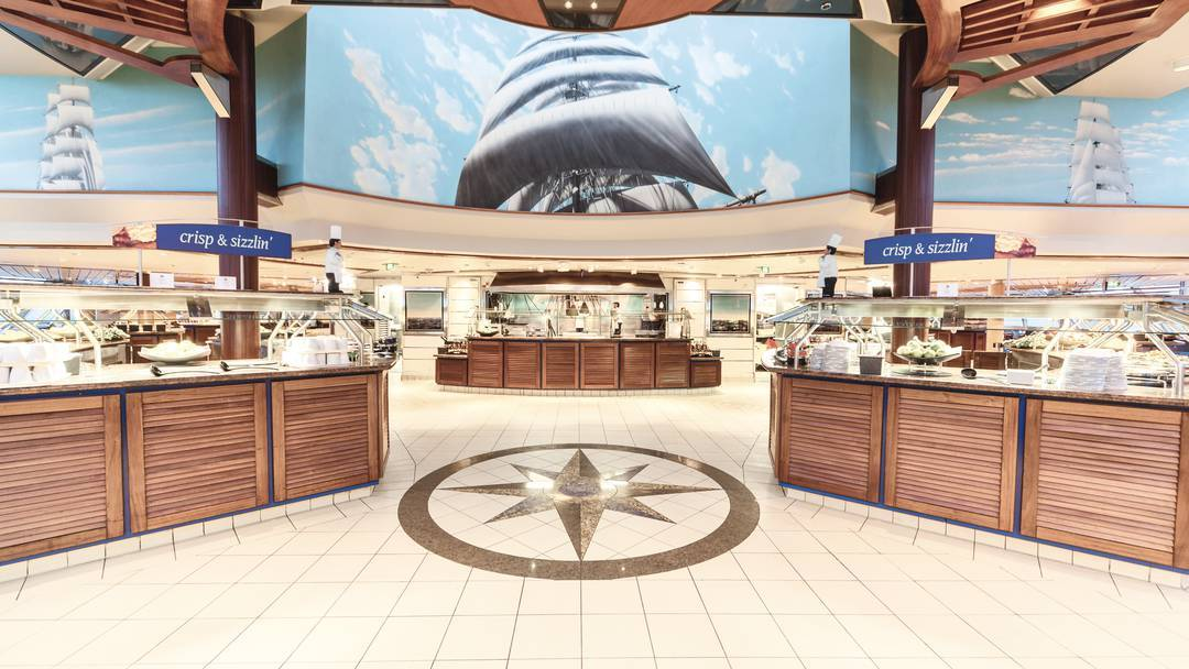Thomson Cruise Thomson Discovery Interior Lido Restaurant 3.jpg