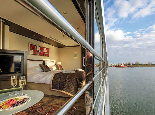 Avalon Waterways Avalon Artistry II Accommodation Royal Suite Outside View.JPG