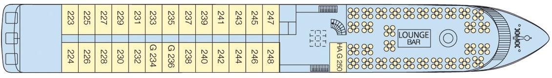 CroisiEurope MS L'Europe Deck Plans Middle Deck.jpg