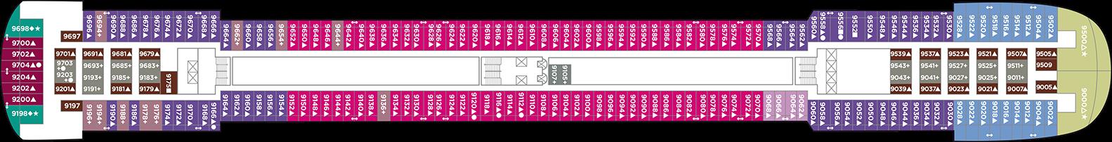 Norwegian Cruise Line Pride of America Deck Plans Deck 9.png