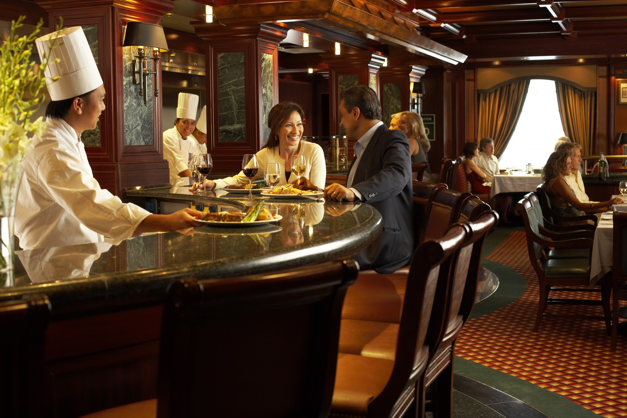 Princess Cruises Royal Class Interior crown grill.jpg