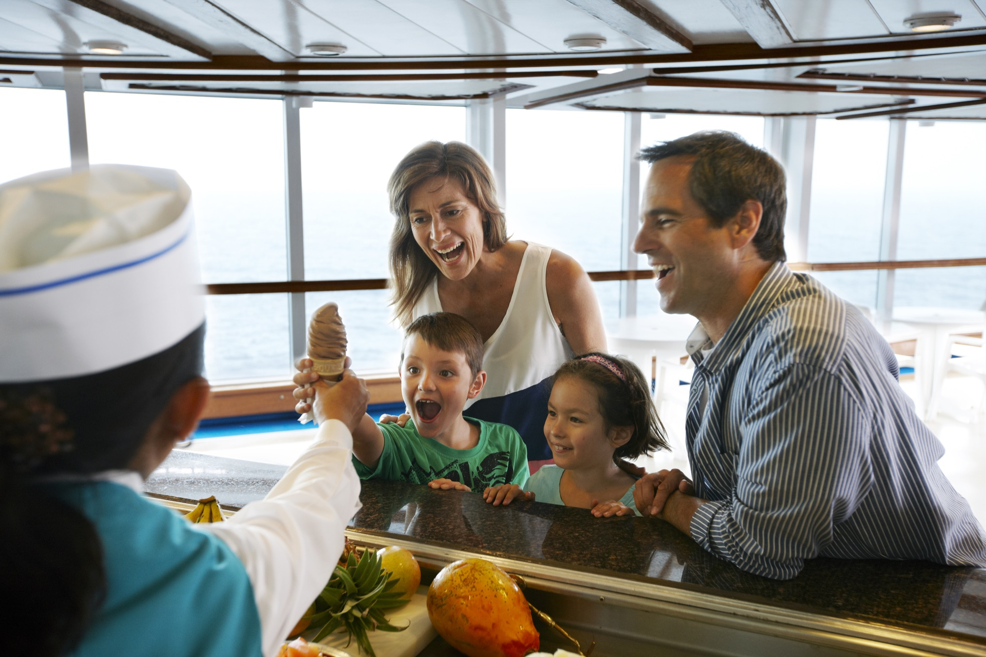 Princess Cruises Royal Class Interior icecream bar1.jpg