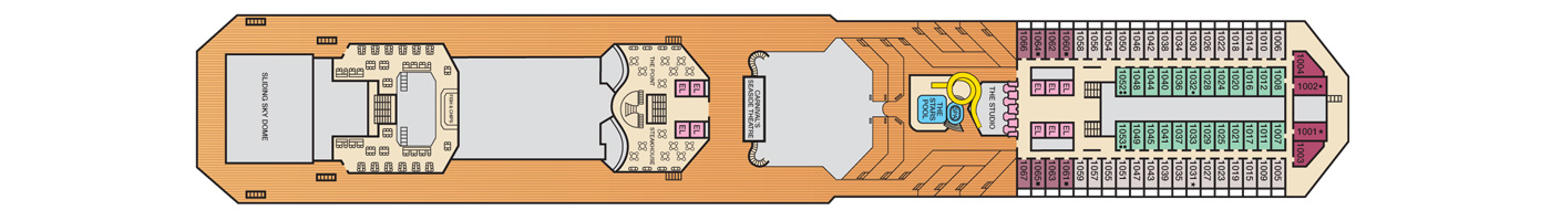 Carnival Cruise Lines Carnival Conquest Deck Plans Deck 10.jpg