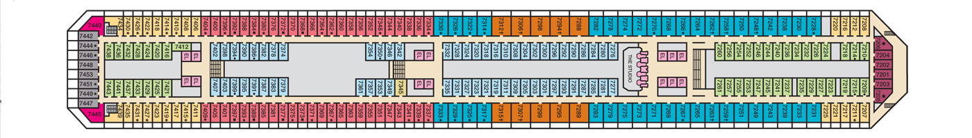 Carnival Cruise Lines Carnival Conquest Deck Plans Deck 7.jpg
