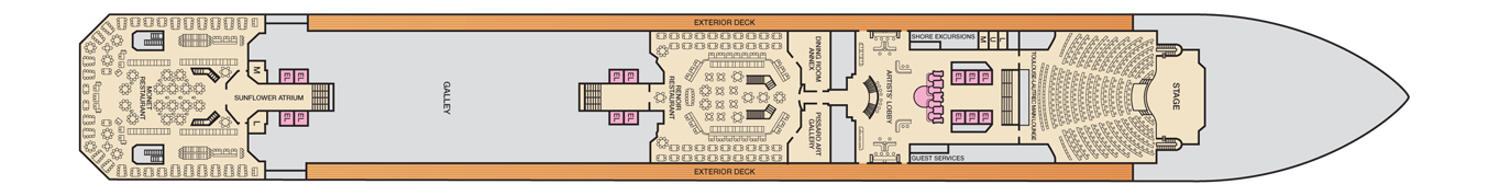 Carnival Cruise Lines Carnival Conquest Deck Plans Deck 3.jpg