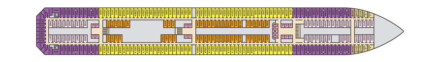 Carnival Cruise Lines Carnival Conquest Deck Plans Deck 2.jpg